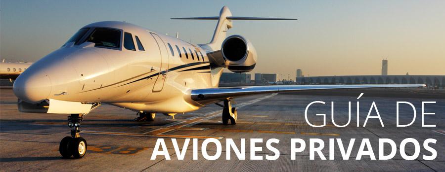 Guia aviones privados
