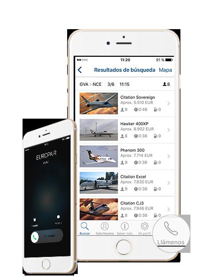 Europair Jets App -es