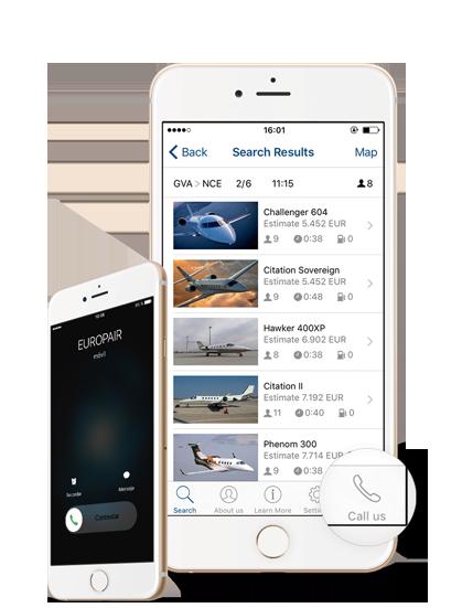 Europair Jets App